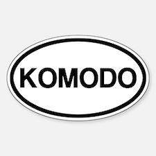 Komodo Decal