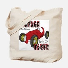 Sprint Car Vintage Racer Tote Bag