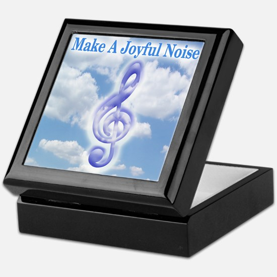 Make a Joyful Noise Keepsake Box