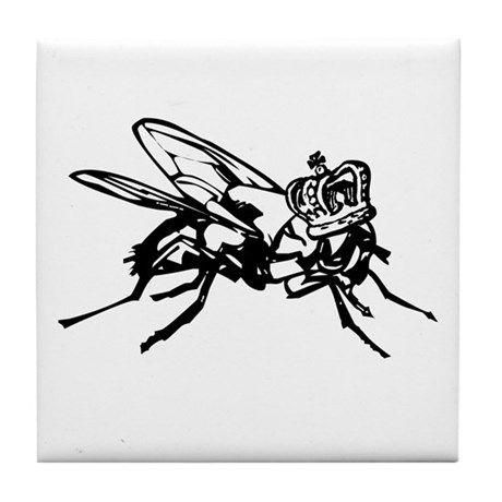the Lord of the Flies Tile Coaster