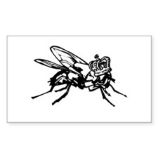 the Lord of the Flies Rectangle Decal