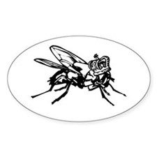 the Lord of the Flies Oval Decal