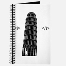 Cute Leaning tower pisa Journal