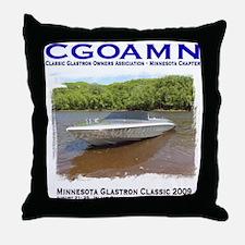 Cute Glastron Throw Pillow