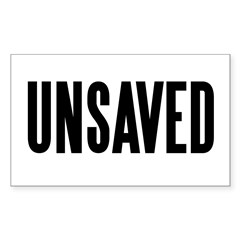 UNSAVED! Rectangle Decal