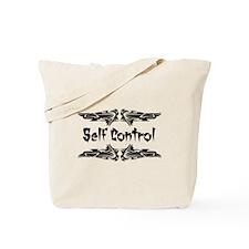 Martial Arts Self Control Tote Bag