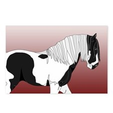 Gypsy Vanner Horse #9 Product Postcards (Package o