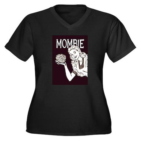 Mombie ~ Zombie Mother Women's Plus Size V-Neck Da