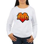 BBQ Love Women's Long Sleeve T-Shirt