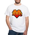BBQ Love White T-Shirt
