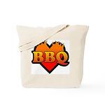 BBQ Love Tote Bag