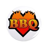 """BBQ Love 3.5"""" Button"""