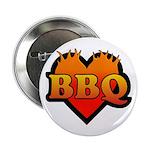 """BBQ Love 2.25"""" Button"""