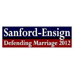 Sanford-Ensign 2012 bumper sticker