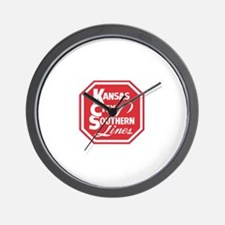 KC Lines Wall Clock