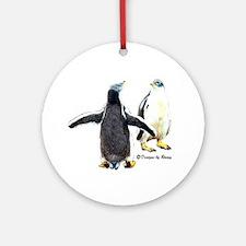 Gentoo Penguin Ornament (Round)