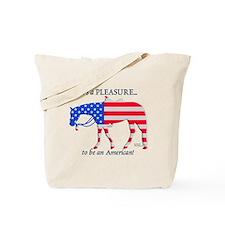 Patriotic Western Pleasure Tote Bag