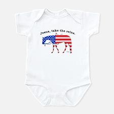 Jesus, take the Reins Infant Bodysuit