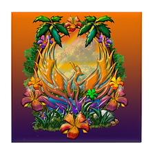 Phoenix Rising Tile Coaster