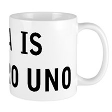 GINA IS NUMERO UNO Mug