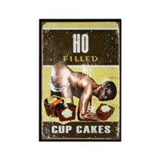 Ho filled cakes Rectangle Magnet