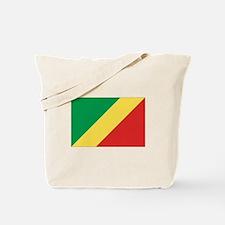 Congo-Brazzaville Flag Tote Bag