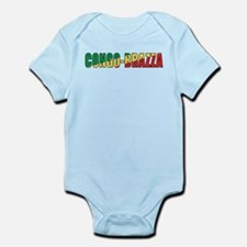 Congo-Brazzaville Infant Bodysuit
