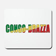Congo-Brazzaville Mousepad