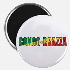 Congo-Brazzaville Magnet