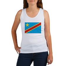 Congo-Kinshasa Flag Women's Tank Top