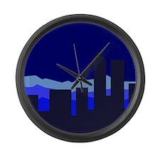 Unique Colorado nights Large Wall Clock
