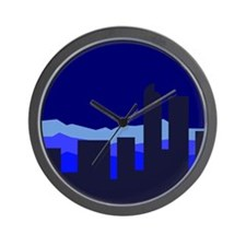Unique Colorado nights Wall Clock