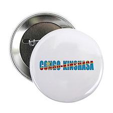 """Congo-Kinshasa 2.25"""" Button"""