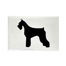 Silhouette #3 Rectangle Magnet (100 pack)