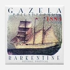 Gazela Barkentine, Portugal Tile