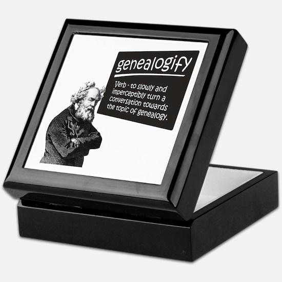 Genealogify Keepsake Box