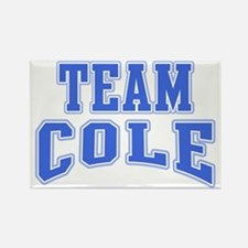 Team Cole Personalized Rectangle Magnet