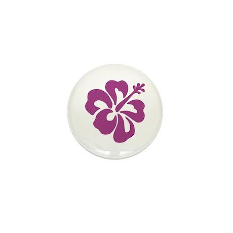 Hibiscus Mini Button (10 pack)
