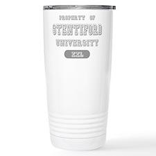 Property of Stentiford University Travel Mug