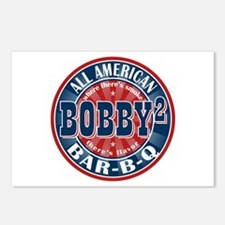 Bobby Squared Barbecue Postcards (Package of 8)