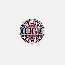 Bobby's All American Bar-b-q Mini Button (100 pack