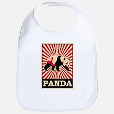 Pop Art Panda Bib