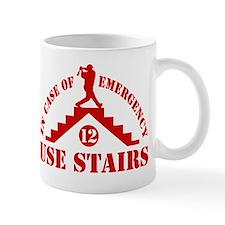In Emergency Use Stairs Mug