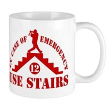 In Emergency Use Stairs Mug
