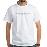 Appalachian trail Mens White T-shirts