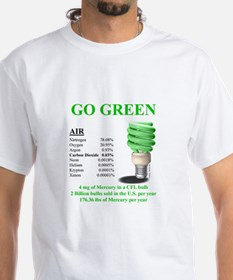 Go Green With Mercury - Shirt