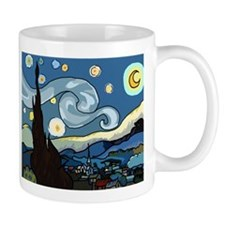 The Starry Night SFM - Coffee Mug