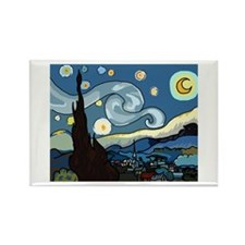 The Starry Night SFM - Rectangle Magnet