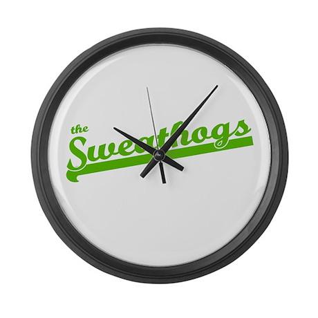 Sweathogs Large Wall Clock