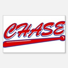 Chase Classic Bat Rectangle Decal